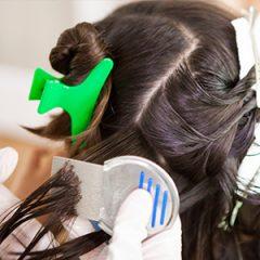 AirAllé technician doing a post-treatment comb-out